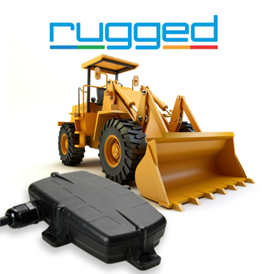 rugged gps tracker heavy equipment run hour tracking service maintenance