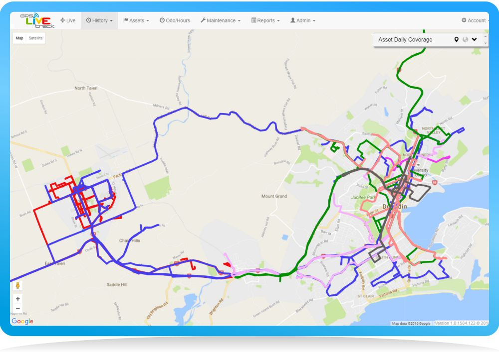 gps daily coverage all vehicles