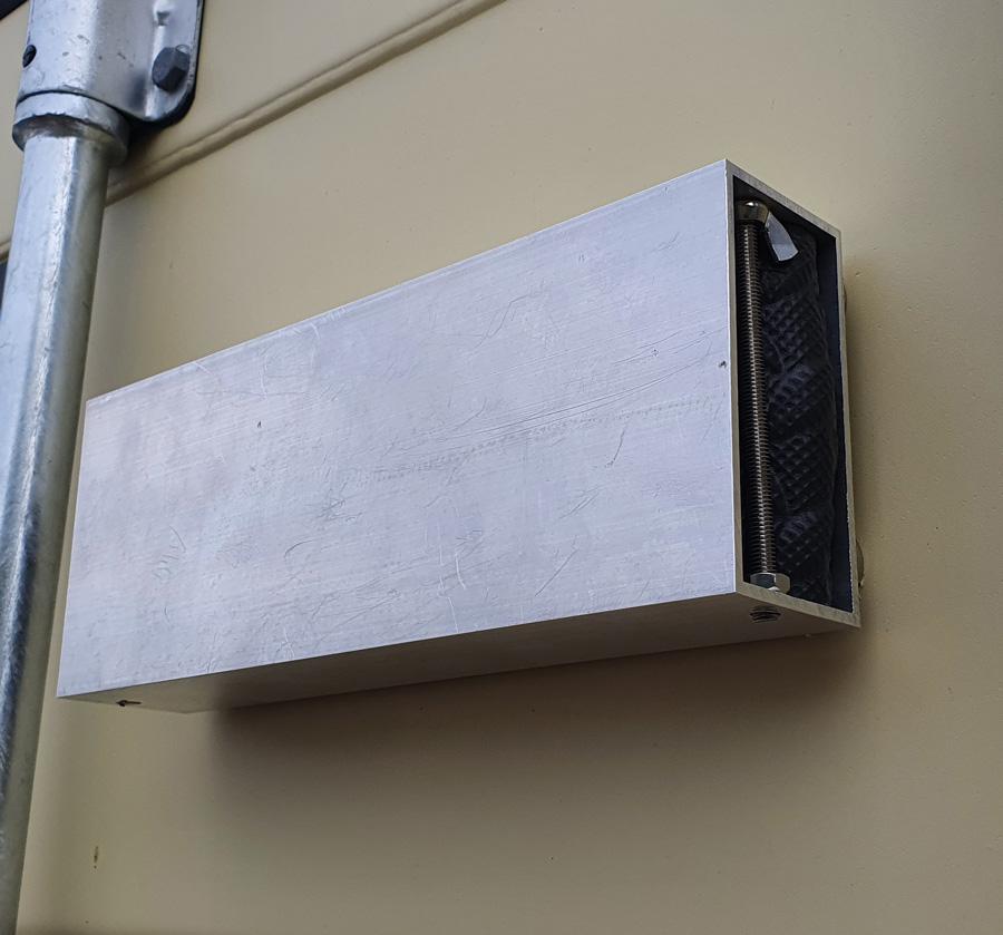 Rugged Aluminium heavy duty protective cover for Battery GPS Tracker